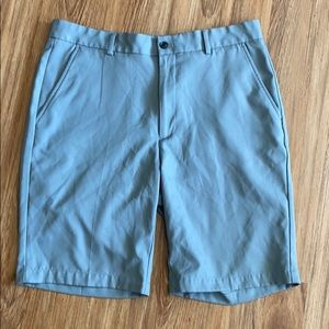 Greg Norman gray shorts size 34. Polyester